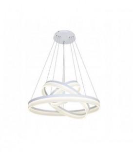 LUSTR KROUŽKY LAMPA KRUHY OBRUČE LED 20 + 40 + 60CM