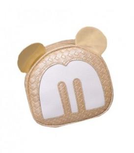 Dámská kabelka na rameno uši Mickey Mouse zlato WB1727