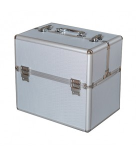 Kosmetický kufřík 5012B stříbro