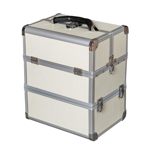 Kosmetický kufřík 5022B bílá