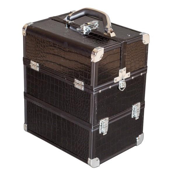 Kosmetický kufřík 5022B černá