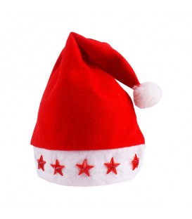Vánoční ČEPICE SV. MIKULÁŠE sLED osvětlením