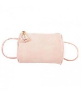 Dámská kabelka snášivkami boho barvy růžový / WB1711