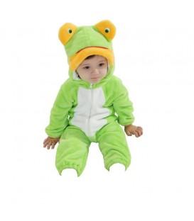 PYŽAMO onesie kigurumi pro děti Žába