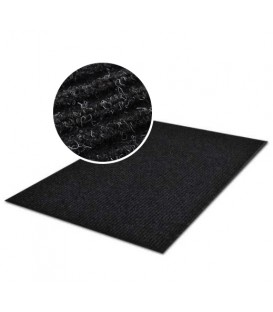 PRAKTICKÁ ROHOŽKA PROUŽKOVANÁ ROHOŽKA 80x120 černá