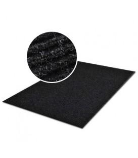PRAKTICKÁ ROHOŽKA PROUŽKOVANÁ ROHOŽKA 60x90cm černá