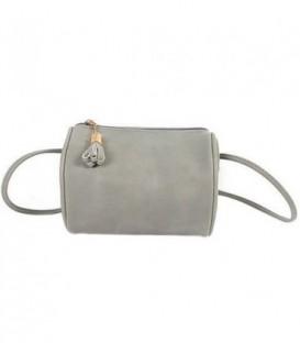 Dámská kabelka snášivkami boho barvy šedá / WB1711