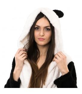 Teplý plyšový župan zvířátka panda