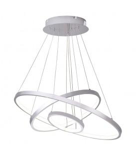 Lustr kroužky lampa kruhy obruče LED 20 + 40 + 60cm 76W