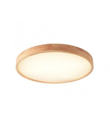 MODERNÍ LAMPA LED TENKÝ STROP dřevo