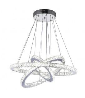 Lustr kroužky lampy prsteny 75W 70cm