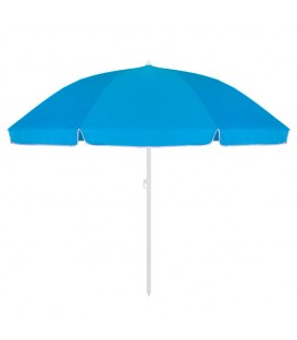 Skládací slunečník 240 cm - modrý