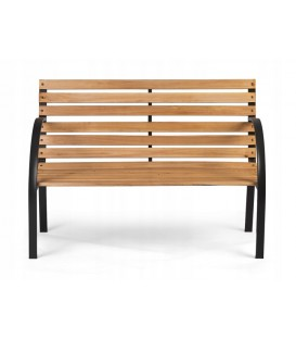 zahradní lavička s opěradlem