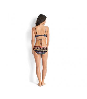 bikiny PLAVKY aztécké designy vázání na zádech IK39