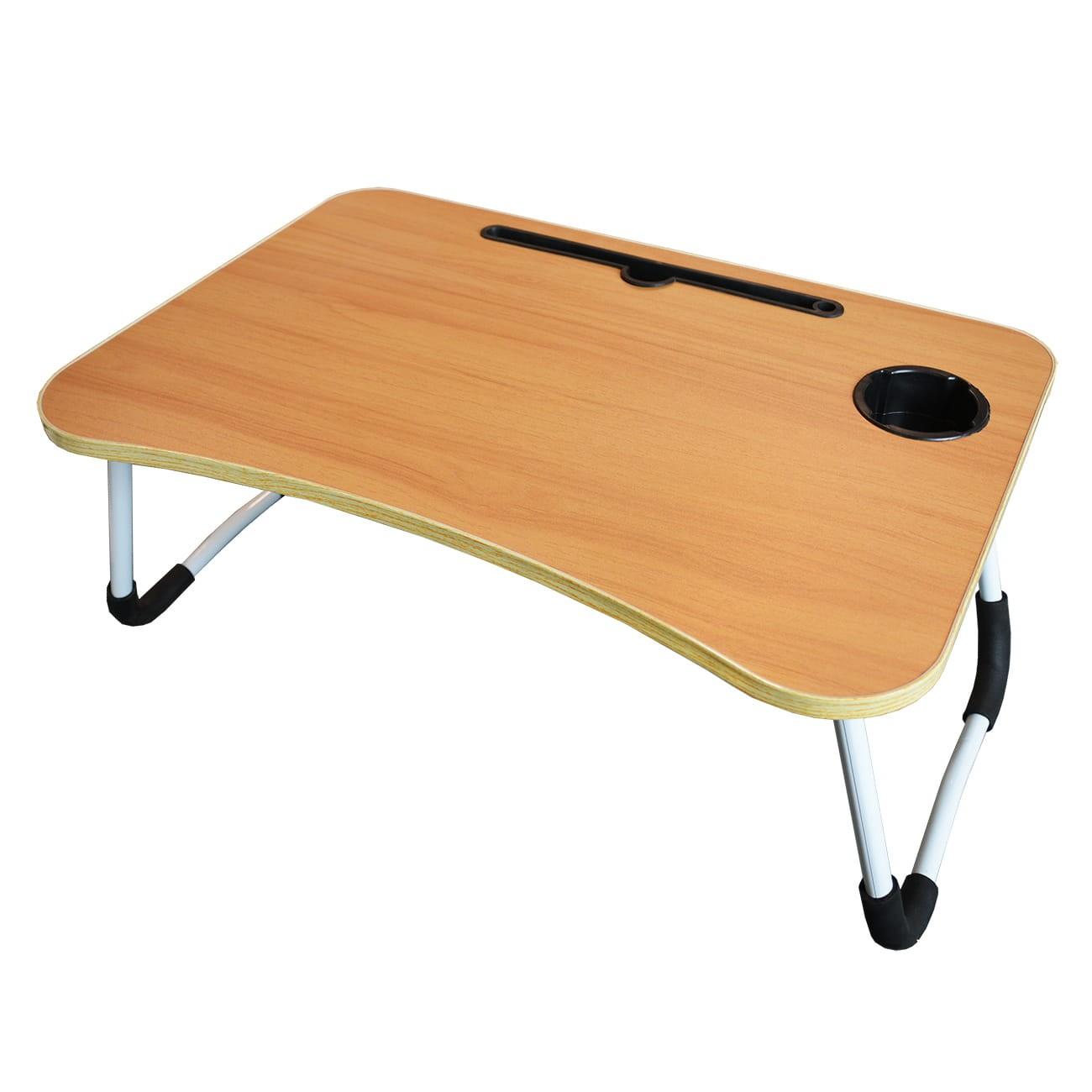 DŘEVO Skládací stůl na notebook počítač