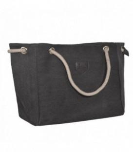 Dámská taška velká taška eko materiál A4 – VAK černá