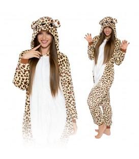 Leopard KIGURUMI ONESIE TEPLÁKY PYŽAMO KOMBINÉZA KIGU