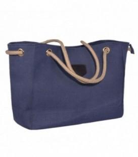 Dámská taška velká taška eko materiál A4 – VAK námořnická modř