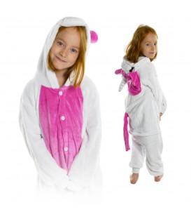 Kigu Onesie pyžamo pro děti růžový jednorožec