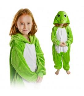 Overal Onesie pyžamo pro děti žába