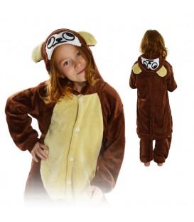 Kigurumi Onesie pyžamo kigu pro děti opice