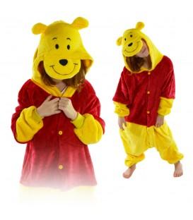 Kigurumi Onesie pyžamo pro děti medvídek Pů