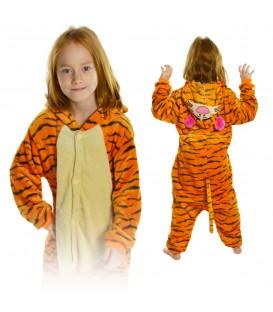 Kigurumi Onesie pyžamo kigu pro děti tygřík