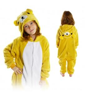 Overal Onesie pyžamo pro děti kuma bear