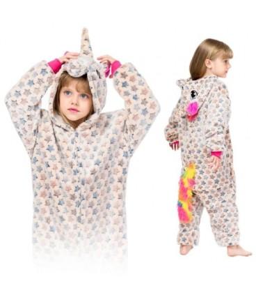 Kigu Onesie pyžamo pro děti JEDNOROŽEC V HVĚZDY