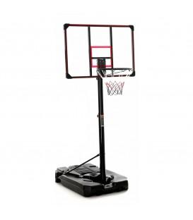 Basketbalová sada, mobilní nastavitelný koš