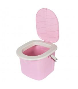 Turistické WC 15,5L Růžová