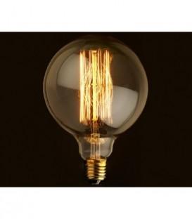 Edisonova žárovka E27 retro vintage koule 125