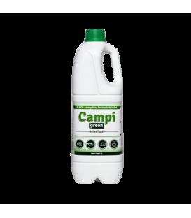 Přípravek pro přenosné toalety Campi green 2l