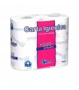 Rozpustný toaletní papír - 4 role