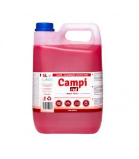 PŘÍPRAVEK PRO PŘENOSNÉ TOALETY CAMPI RED 5L