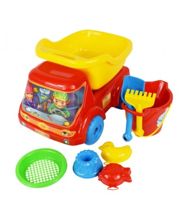 SADA SANDBOXU kamion + hračky