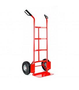 Univerzální, kovový přepravní vozík. červená