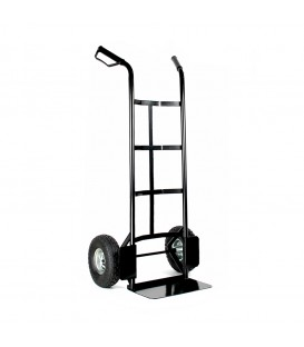 Univerzální, kovový přepravní vozík. černá