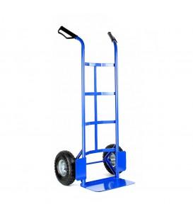 Univerzální, kovový přepravní vozík modrý
