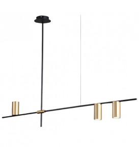 Závěsná lampa Moderní kovový lustr 3