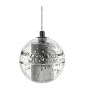 Moderní LED stropní svítidlo s křišťálovou koulí