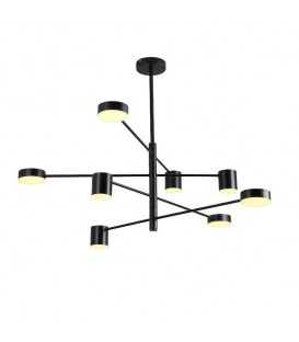 Moderní závěsná lampa LED loft 8 ramen