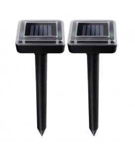 Solární odpuzovač krtků pro hlodavce, krtky, škůdce 2 ks