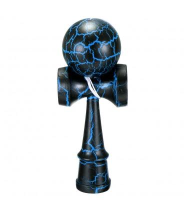 Kendama dřevěná arkádová hra modrá hračka