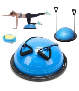 Poloviční míč cvičení míč vyvažování fitness rehabilitace