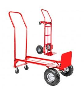 Skládací vozík 2v1 sklad mlynář červená
